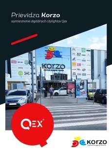Mapa reklamných plôch Prievidza Korzo