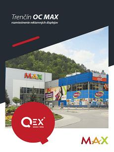 Mapa reklamných plôch Trenčín Max